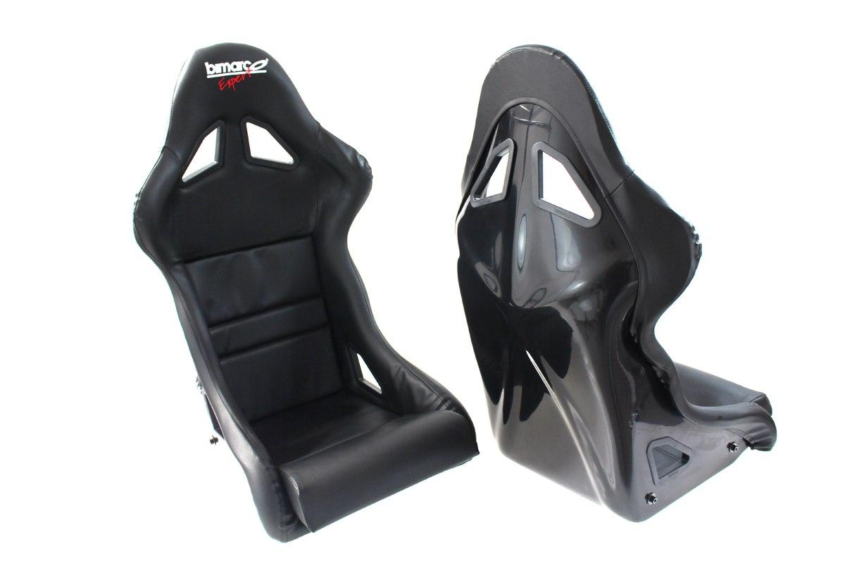Fotel Sportowy Bimarco Expert II Skaj Black FIA - GRUBYGARAGE - Sklep Tuningowy